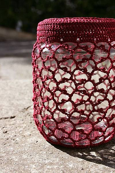Crochet Patterns Jar Covers : LB Crochet Jar Cover 2 Crochet Jars & Lid Cozies Pinterest