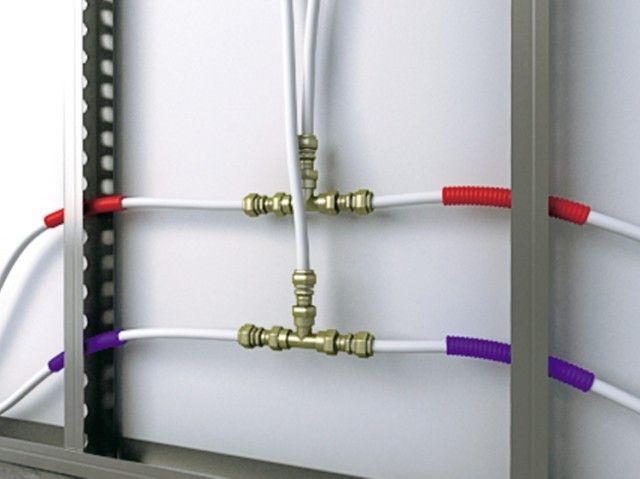 Monter Un Reseau Multicouche Installation Plomberie Plomberie Sans Soudure Plomberie