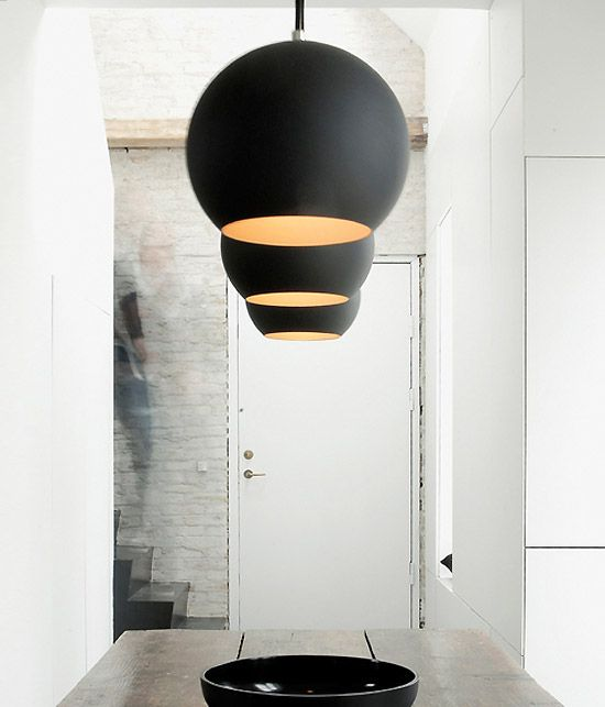 The Topan pendant by Verner Panton is a classic example of great and simple design.