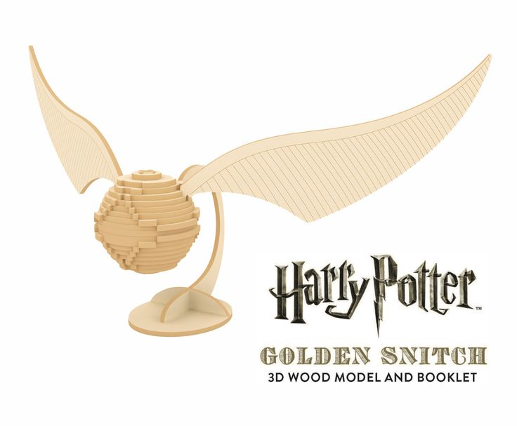 Build your own 3D Golden Snitch! Each wooden piece is sourced from sustainable forests and fits together with no glue required. BONUS: each set comes with a booklet explaining how Quidditch was brought to life for the Harry Potter films!