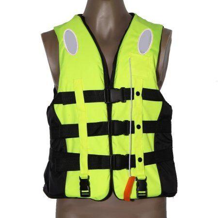 Life Jacket for Adult /& Kids Swimming Boating Ski Drifting Vest Survival Suit