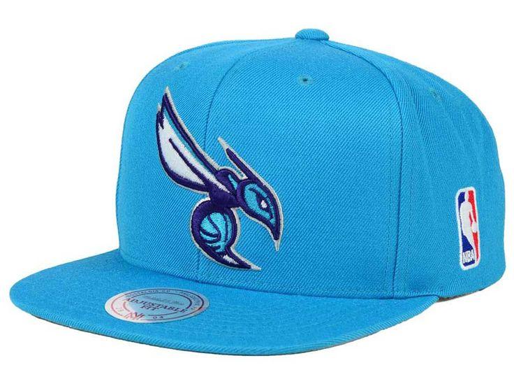 Charlotte Hornets Mitchell and Ness NBA XL Logo Snapback Cap