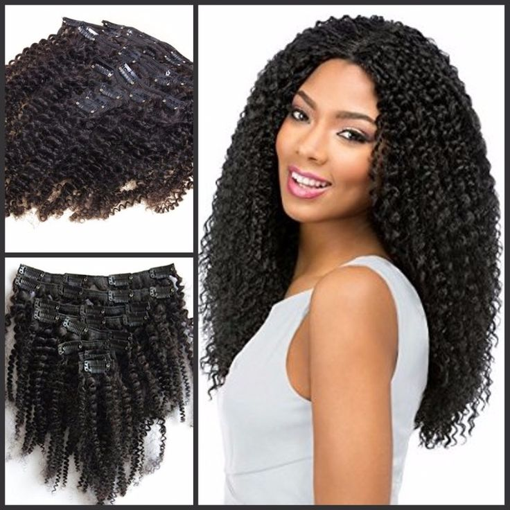 592 best alibaba images on pinterest black women afro and best quality afro kinky curly clip in human hair extensions peruvian human hair clip in hair extensions for black women pmusecretfo Images