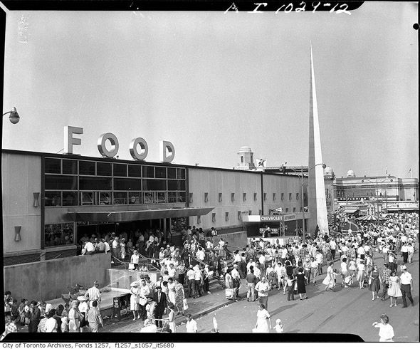 Food Building at The Ex in Toronto