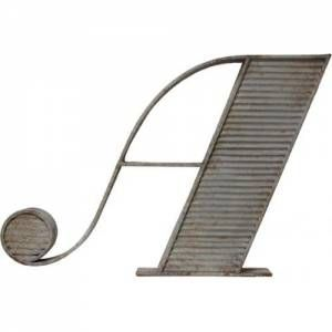HK Living Metalen Letter Ornament A
