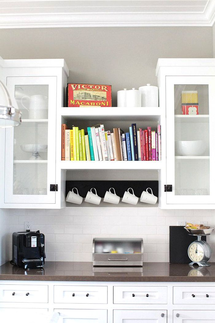 10 Stylish Cookbook Display and Storage Ideas - The Spruce