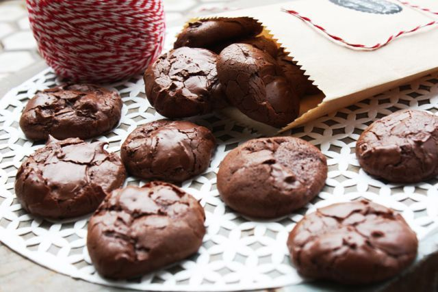 Flourless chocolate cookies - These cookies will make for a delightful low FODMAP treat that you won't regret!