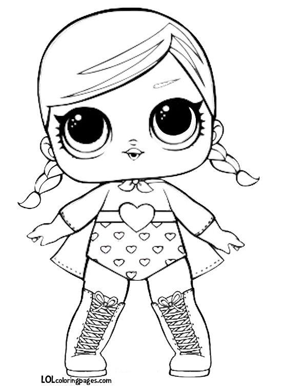28 best LOL Surprise Dolls Series 1 Coloring Pages images