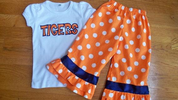 Camo Auburn Baby Clothes
