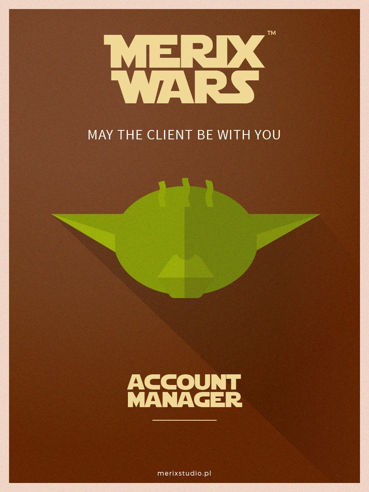 Our recruitment campaign based on #starwars Join our team as #Account #Yoda #job http://www.merixstudio.com/wars/