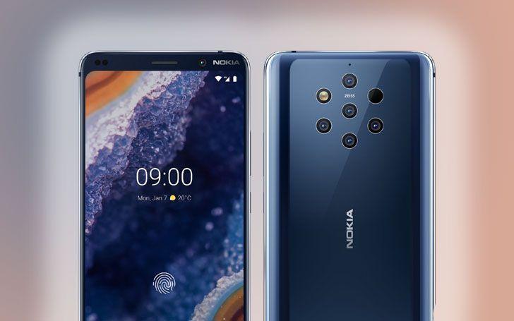 تسريب دفعة جديدة من الصور الرسمية للهاتف Nokia 9 Pureview المرتقب Nokia Android One Samsung Galaxy Phone
