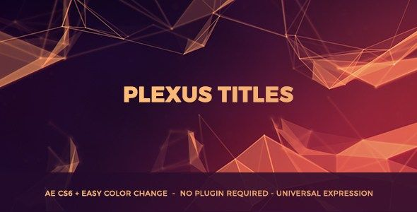 Videohive Plexus Titles Free Download With Images Plexus