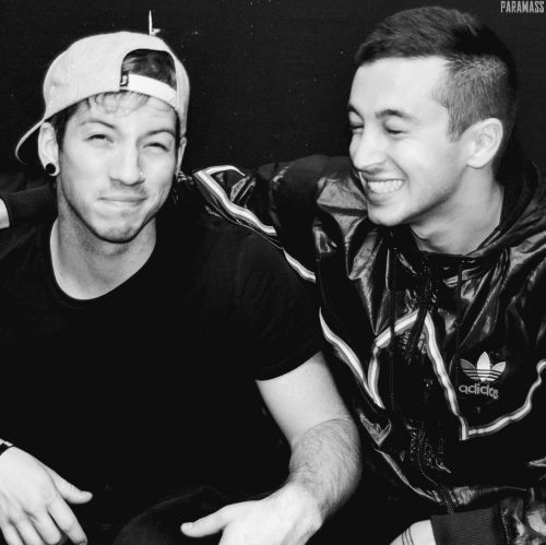 Joshua Dun and Tyler Joseph