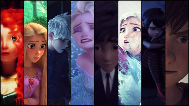 This is a video so deep. Watch it. Pls.  WELCOME TO MY LIFE - The big four, Frozen, Big Hero 6...