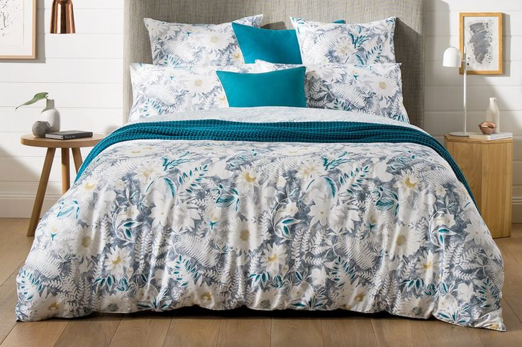 Sheridan Paloma quilt (duvet) cover Set - Blue. From £119. Created with pastels, we are always looking for new ways to bring texture to our signature florals. The elements appear, before fading to bleached out markings. This softly textured artwork brings an element of sophistication to the bedroom.