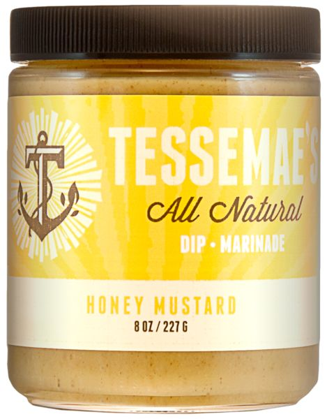 Check out Tessemae's Honey Mustard, BBQ Sauce, or Teriyaki for a refined sugar-free, gluten-free, dairy-free, Paleo-friendly spread on your favorite protein dish. $5.99 online.