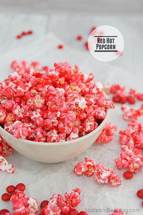 Red Hot Popcorn | www.tasteandtellblog.com