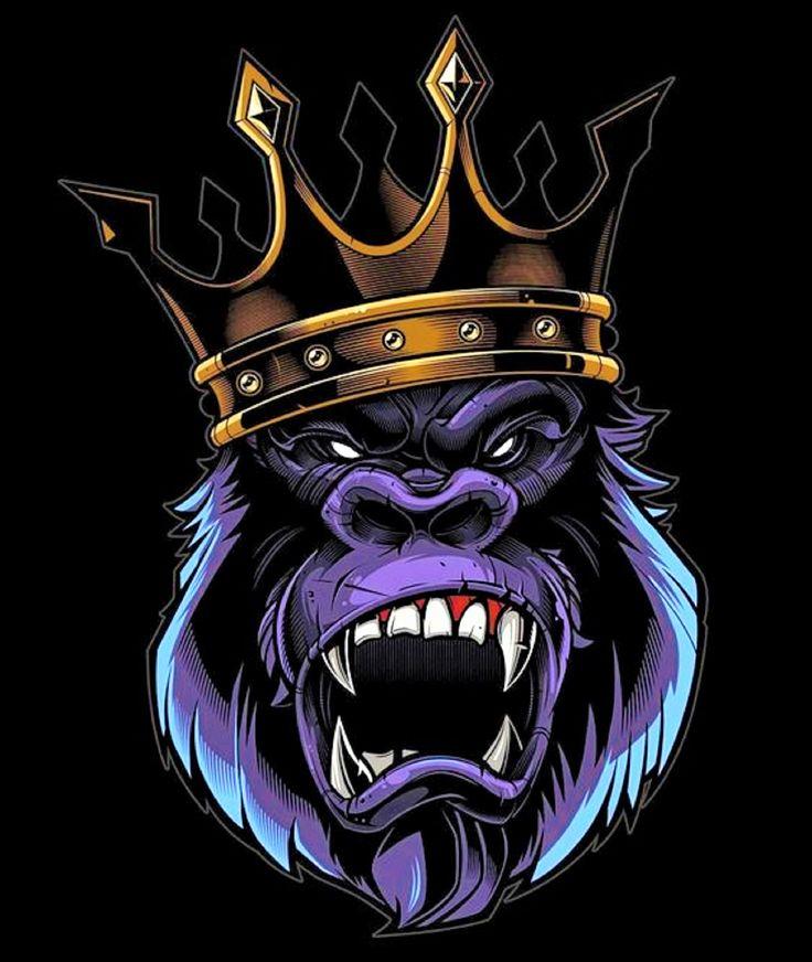 Картинка кинг с короной