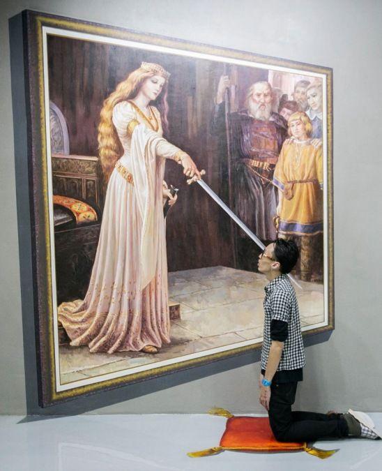 Filipinler'deki 3D Sanat Müzesi - Filipinler'deki bu müze ziyaretçilerinin istedikleri kadar fotoğraf çekebilmesi, sanat eserleri ile eğlenmesi ve etkileşim kurabilmesine teşvik etmek için kurulmuş…