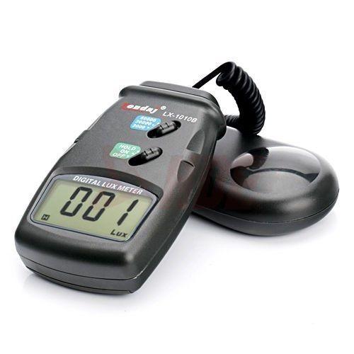 3 Range Digital Light Meter Lux Photo Luxmeter Tester High Accuracy Photometer