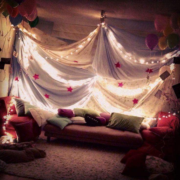 Pijama party tent