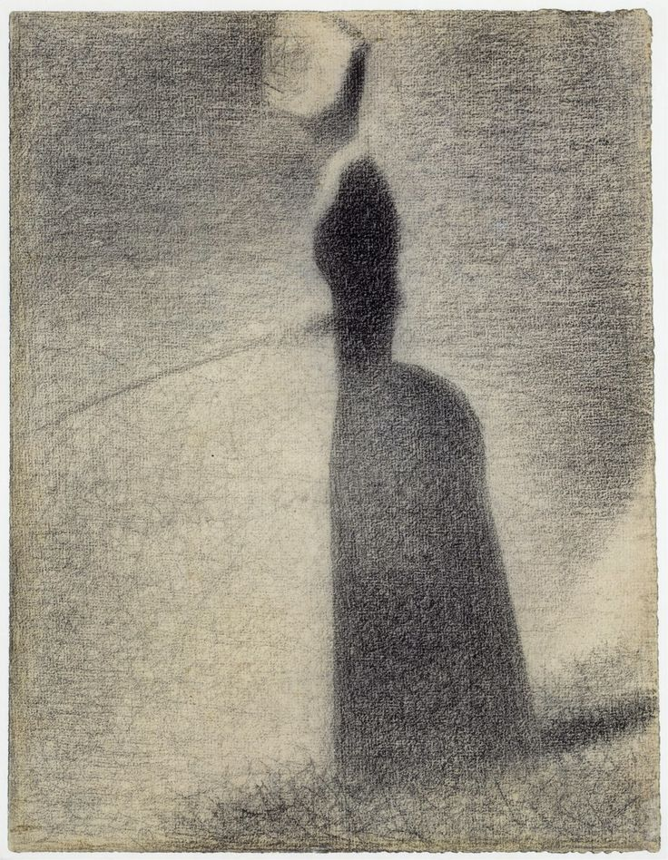 Georges Seurat, 1859-1891, French, Fishing, 1884.