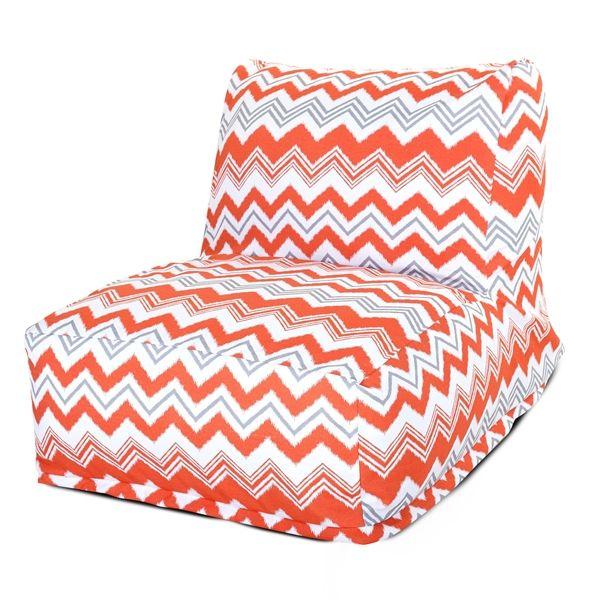 Orange Zazzle Campus Life Style Bean Bag Lounger Free