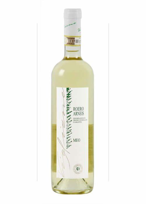 Il Roero Arneis è un vino bianco piemontese DOCG, la cui produzione è consentita in soli 19 comuni della provincia di Cuneo, situati lungo la riva sinistra del fiume Tanaro. È costituito da almeno 95% di uve bianche vitigno Arneis