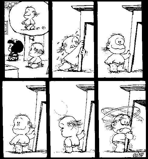 Quino | Mafalda, Guille lo amooo