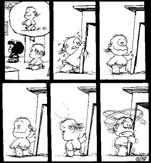 Quino   Mafalda, Guille lo amooo