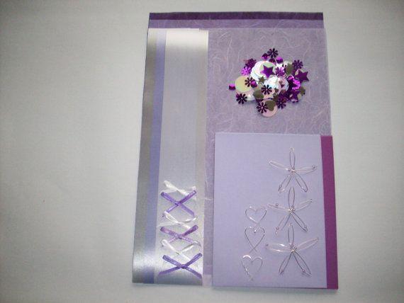 Card Making Kits by CaroCraft321 on Etsy