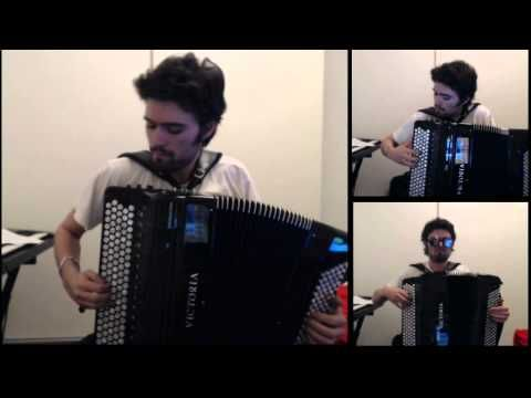 Thunderstruck - AC/DC - CharlesPlays (accordion cover) - YouTube