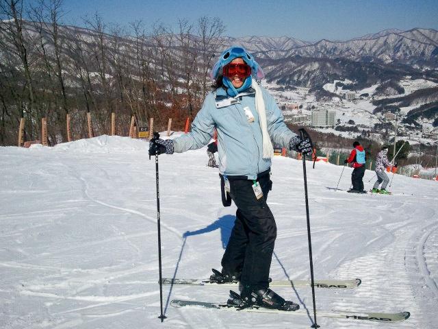 #PotentialistCanada - Trip Purpose 2: Travel and have new adventures - Skiing at Phoenix Park Resort, South Korea