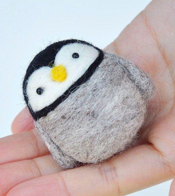 10 Cutest Penguin Gifts You Need Now Needle Felting Kits