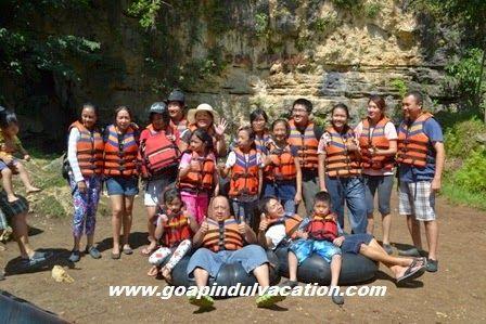 Perjalanan Cave Tubing Goa Pindul