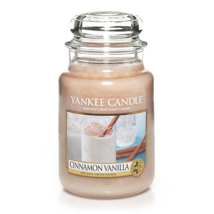 Cinnamon Vanilla - Candles - Yankee Candle