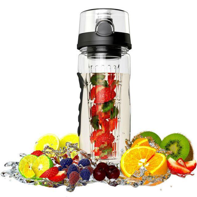 Respetuoso del medio ambiente Botella de Agua Del Deporte con Agua de Infusión de Frutas de Sabor Natural