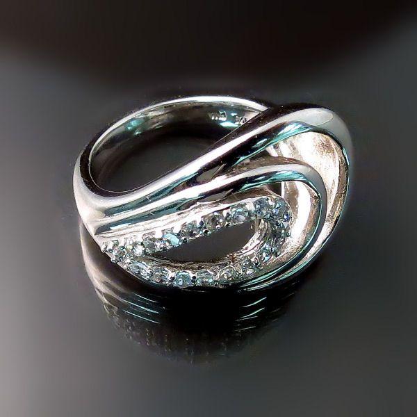 S Diamond Ring