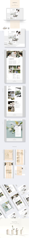 욱스웹디자인아카데미-Lyanature Redesign - Designer - Kim-hana on Behance