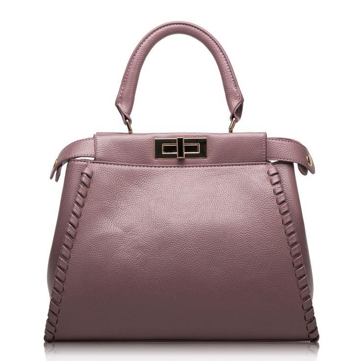 (59.14$)  Buy here  - Luxury Designer Women Cattle Leather Handbags Fashion High Quality Clutch Shoulder Bag Doctor Tote Bags Knitting Shoulder Strap