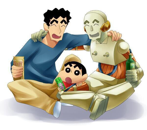Shinchan Movie: Robot Dad