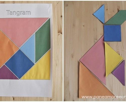 Giochi con i bambini: il tangram