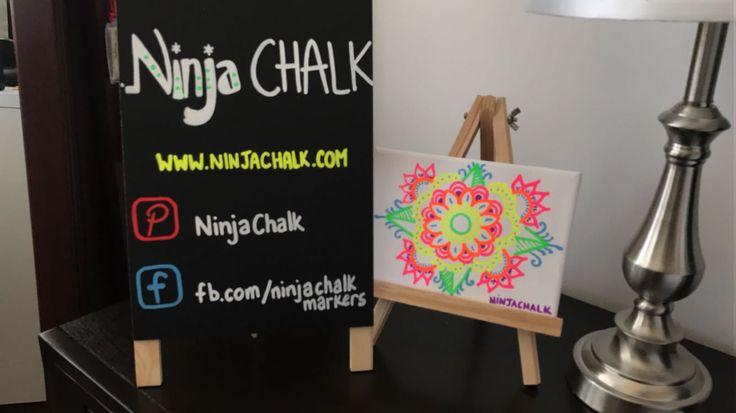Follow Ninja Chalk!