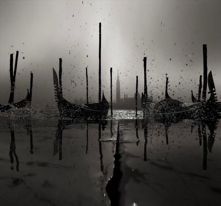 Venetian Winter: Inspiration, Ian Webb, Venetian Winter, Boats, Backgrounds, Lakes, Venice Italy, Photo, Trees Stumps