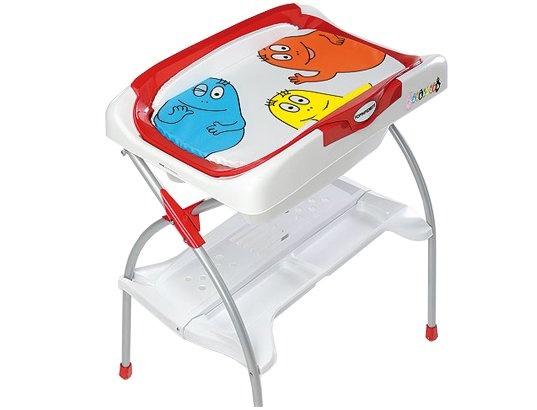 Table à langer baignoire FOPPAPEDRETTI B-BATH barbapapa rouge