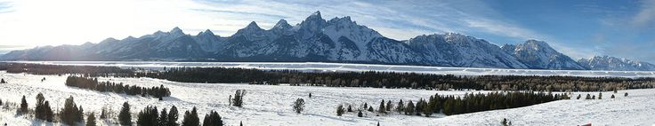 The Teton Range.  Glad I finally found out where these suckers are at.