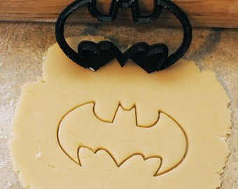 SMALL Batman cookie or fondant cutter 2 inches wide by BoeTech