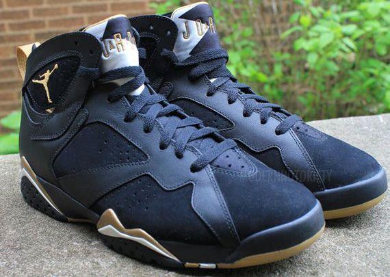 official photos 04833 496de Air Jordan VII  Gold Medal  - Preview - SneakerNews.com