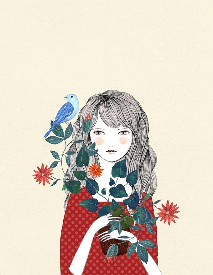 Image of Escondite. Pareja de prints.                                                                                                                                                                                 Más