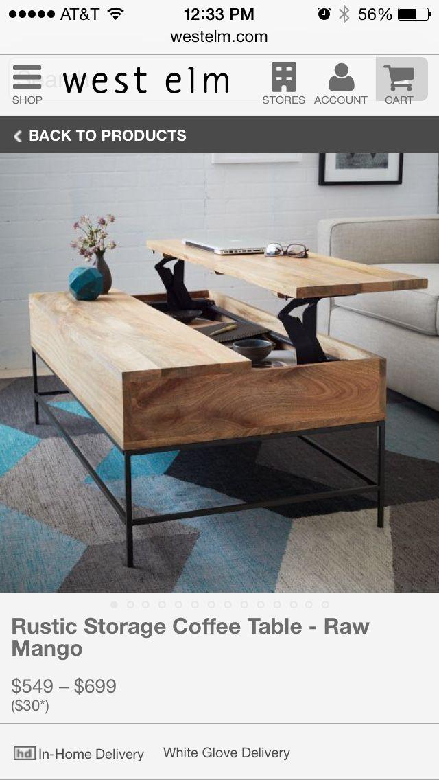 Table basse originale et pratique!